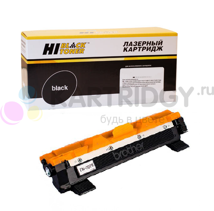 Тонер-картридж Hi-Black (HB-TN-1075) для Brother HL-1010R/1112R/DCP1510R/1512/MFC1810R, 1K