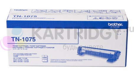 Картридж Brother HL-1010R/1112R/DCP-1510R/1512R/MFC-1810R/1815R (О) TN-1075, 1К