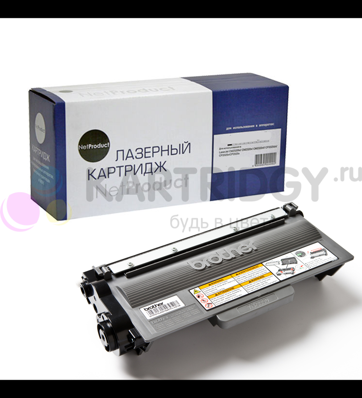 Тонер-картридж NetProduct (N-TN-3380) для Brother HL-5440D/5450DN/DCP-8150DN, 8K