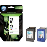 Картридж набор 21+22 для HP DJ 3920/3940, 0,190К+0,165К (O) SD367AE bk+color