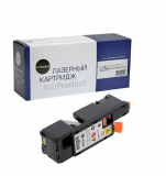 Тонер-картридж NetProduct (N-106R01633) для Xerox Phaser 6000/6010/WC6015, Y, 1K